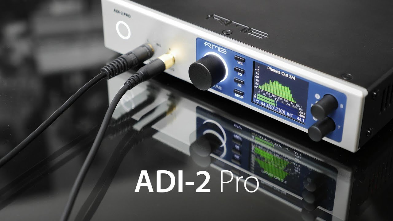 ADI-2 Pro | High-end USB Audio Converter & Headphone Amp