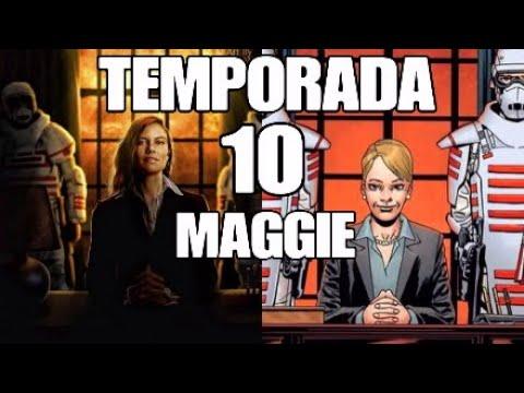 El Regreso de Maggie. The Walking Dead Temporada 10. Commonwealth.