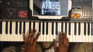 William McDowell You are God Alone Intro Piano