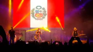Bret Michaels (Poison) en Arequipa - Something to believe in