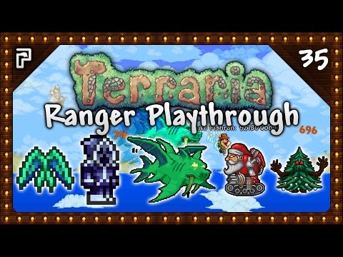 🌳 Terraria 1.3.5 Let's Play | Ranger Playthrough | AWFUL Luck! Vengeance On Fishron! [Episode 35]