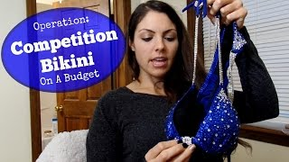 NPC Bikini Competition Suit on a Budget