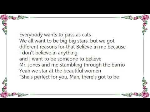 Counting Crows - Mr. Jones Lyrics