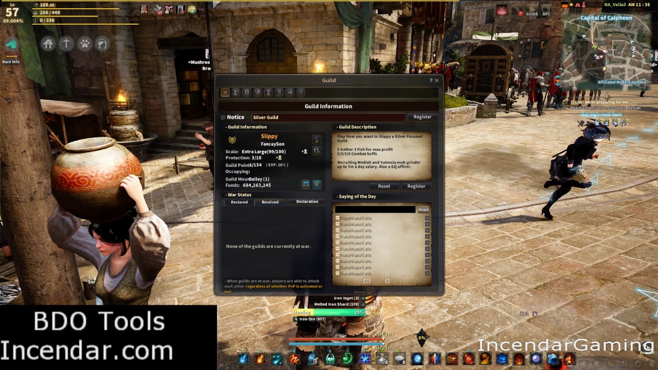 Speed up Guild Points Skills and buffs - GQs and alts Black Desert Online  BDO