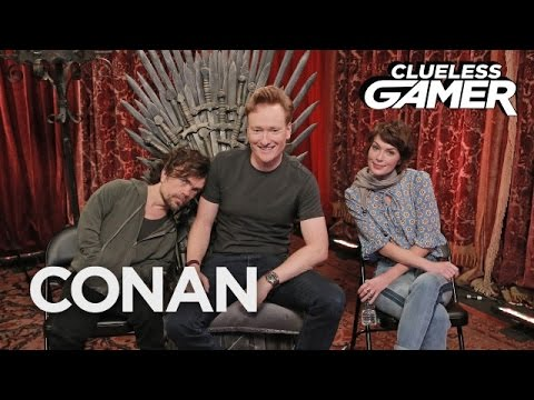 "Clueless Gamer: ""Overwatch"" With Peter Dinklage & Lena Headey  - CONAN on TBS"