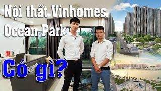 Thăm quan căn hộ mẫu Vinhomes Ocean Park  có gì ?