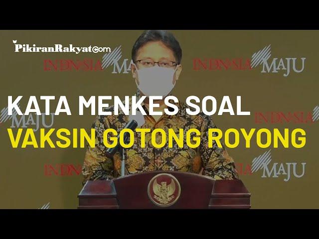 Soal Vaksin Gotong Royong, Menkes Budi Gunadi: Harus Gratis untuk Seluruh Karyawan dan Keluarganya