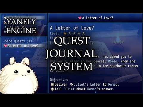 YEP.152 - Quest Journal System - RPG Maker MV