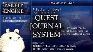 YEP.152 - Quest Journal System - RPG Maker MV
