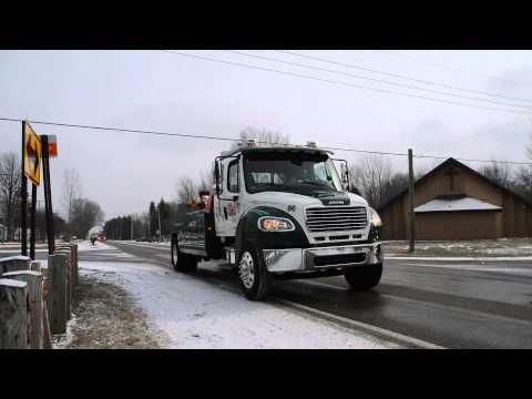 Fallen Tow Truck Driver,  Jason Schultz  Funeral Procession 1-20-16