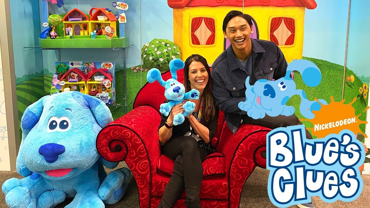 Download Blues Clues Toys From The Nick Jr TV Show at Toy Fair