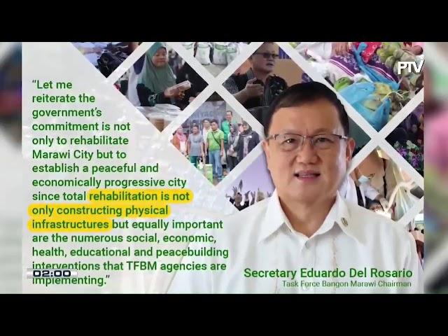 Task Force Bangon Marawi, sinagot ang pahayag ni VP Robredo
