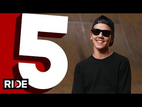 Spencer Nuzzi's Five Favorite Flatground Tricks