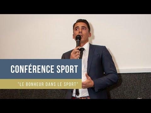"""Extrait de conférence - Matthieu Verneret - """"Le sport, un outil pour créer du bonheur"""""""