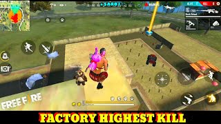 GARENA FREE FIRE FACTORY FIGHT BOOYAH - FF FACTORY ROOF CHALLENGE VIDEO- FACTORY FREE FIRE GAME KING