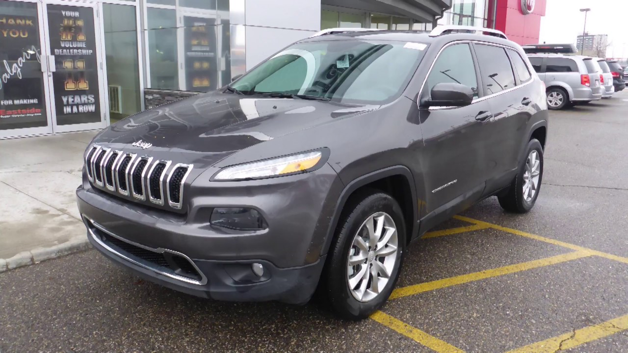 2017 Jeep Cherokee Limited for Sham - Eastside Dodge - Calgary ...