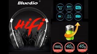 беспроводные наушники Bluedio HT  распаковка обзор и тест.Крутые уши от Bluedio!