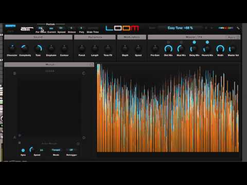 AIR Loom Synth Show And Tell - Extended Video