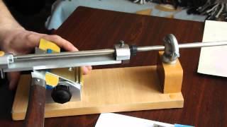 Заточка ножа на приспособлении 5(Заточка ножа на приспособлении. Часть 5 Способы заточки ножа.Выбор угла заточки ножа. Окончательная доводк..., 2013-03-25T11:16:46.000Z)