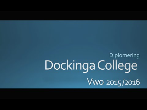 Diploma uitreiking Dockinga College 2016