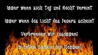 "In Extremo - Feuertaufe + lyrics HD (Album ""Kunstraub"")"