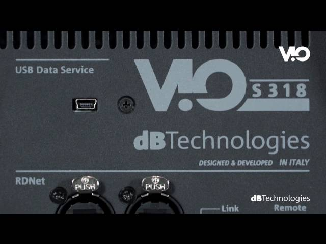 dBTechnologies VIO S318 active subwoofer (ENG)