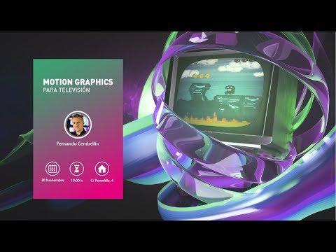 CICE: Motion Graphics para televisión