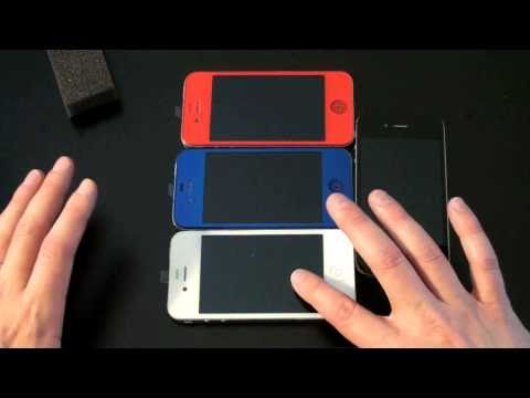 Red, Blue & White iPhone 4 Unboxing!