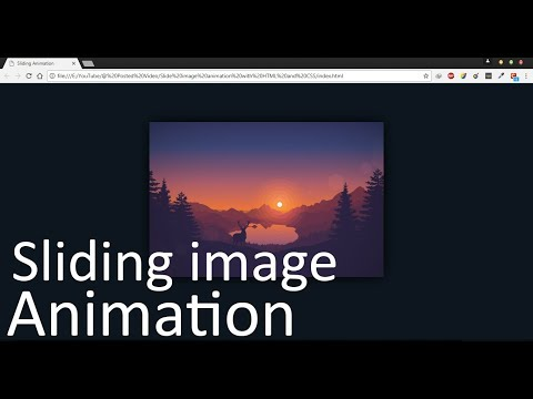 Slide Image Animation With HTML And CSS | HTML And CSS Tutorial | CodeKnight