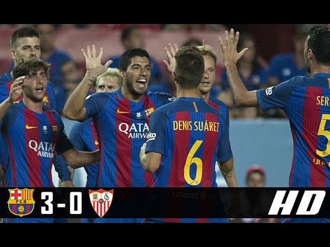 Download Barcelona vs Sevilla 3-0 All Goals & Highlights (La Liga) 05-04-2017