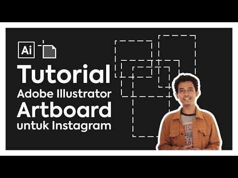 TERNYATA BEGINI CARA BUAT ARTBOARD UNTUK IG | Tutorial Dasar Adobe Illustrator