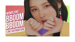 MOMOLAND - Bboom Bboom (Line Distribution) | 모모랜드 - 뿜뿜