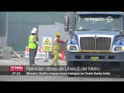 Primer tramo de la Línea 2 del Metro de Lima estará listo entre 2019 y 2020