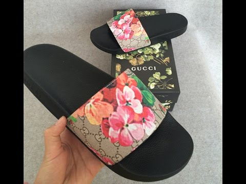 4a81fa25e8b Fashion Lifestyle Sneakers  Gucci Slides Review - YouTube