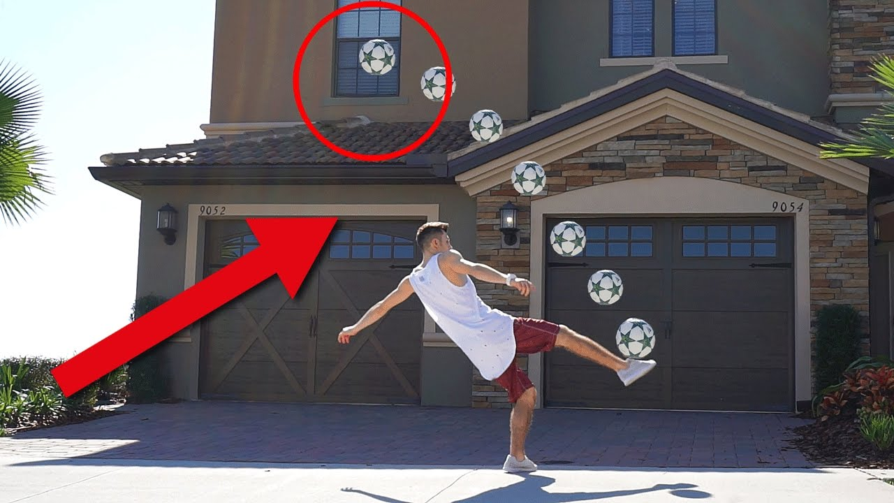extreme fu ball challenge zuhause youtube. Black Bedroom Furniture Sets. Home Design Ideas