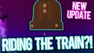 RIDING THE TRAIN IN ROBLOX JAILBREAK?! (Jailbreak FALL UPDATE)
