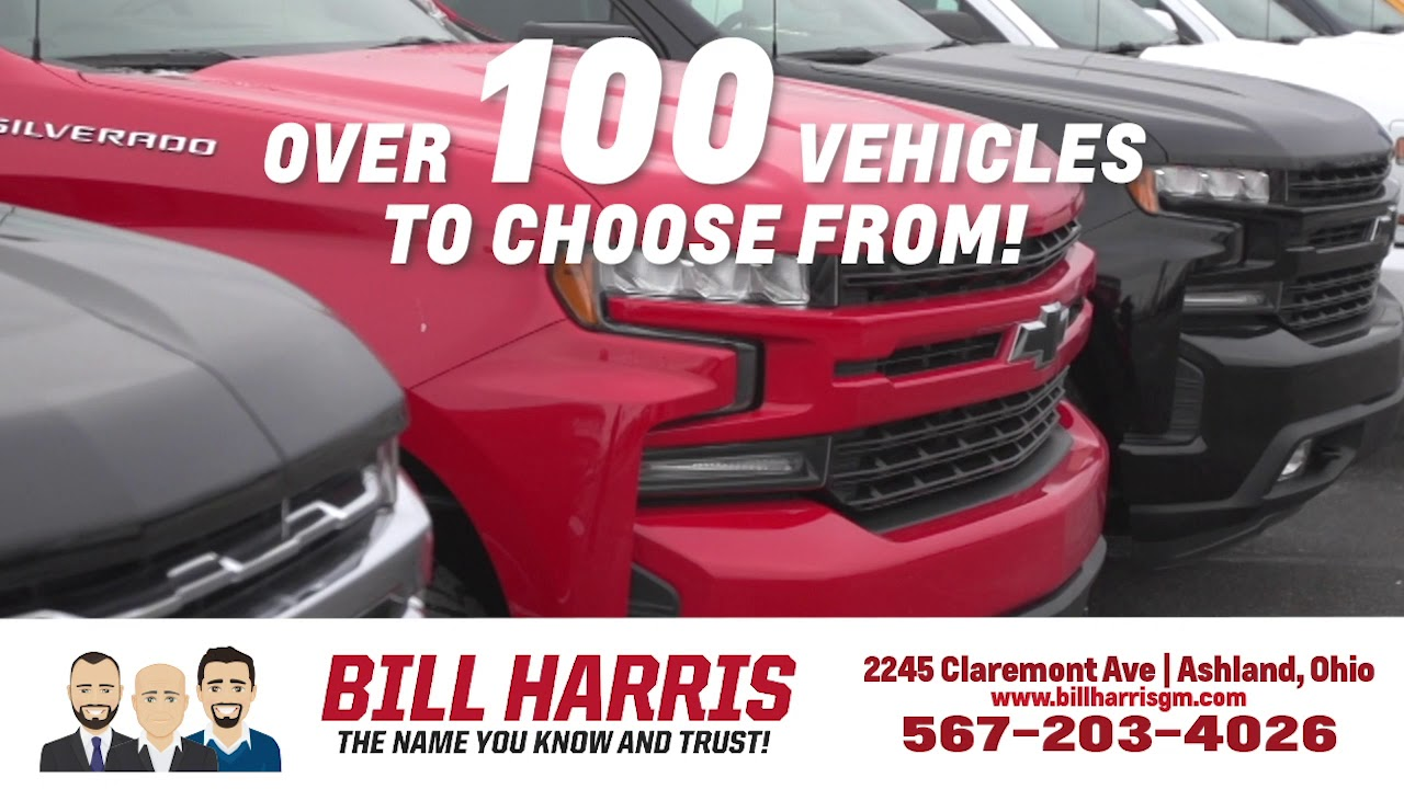 Your Source For Chevrolet Buick Cadillac Bill Harris Auto Center Ashland Oh