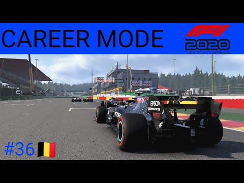 F1 2020 Career Mode #36 Belgium | One Off My Best Races!!