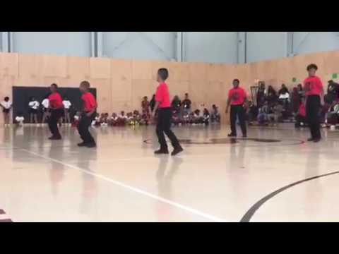 A.S.T. Steppers ARISE Academy Pep Rally