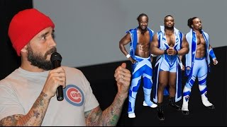 CM PUNK re- watching New Day ( Big E, Kofi Kingston and Xavier Woods ) on WWE  10/17/2015 PART 8
