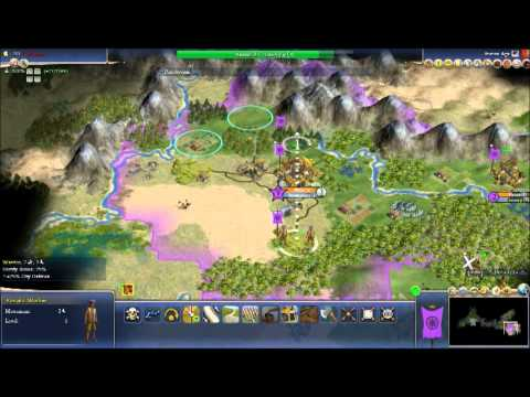 Civilization 4 Rhye's and Fall of Civilization Gameplay India Part 1 |
