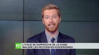 Le rapprochement entre la Chine et l'Italie n'est pas du goût de l'Union européenne thumbnail