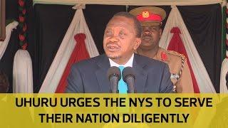 Serve your nation diligently, President Uhuru urges NYS thumbnail