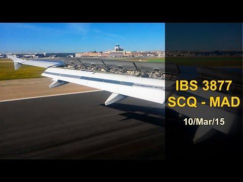 FULL FLIGHT | Santiago - Madrid | IBERIA EXPRESS