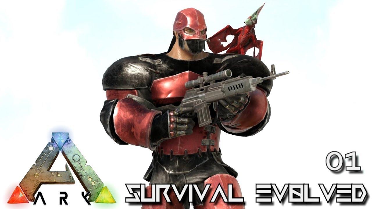 ARK: SURVIVAL EVOLVED - EPIC JOURNEY BEGINS !!! E01 (MOD ANNUNAKI PROMETHEUS RAGNAROK)