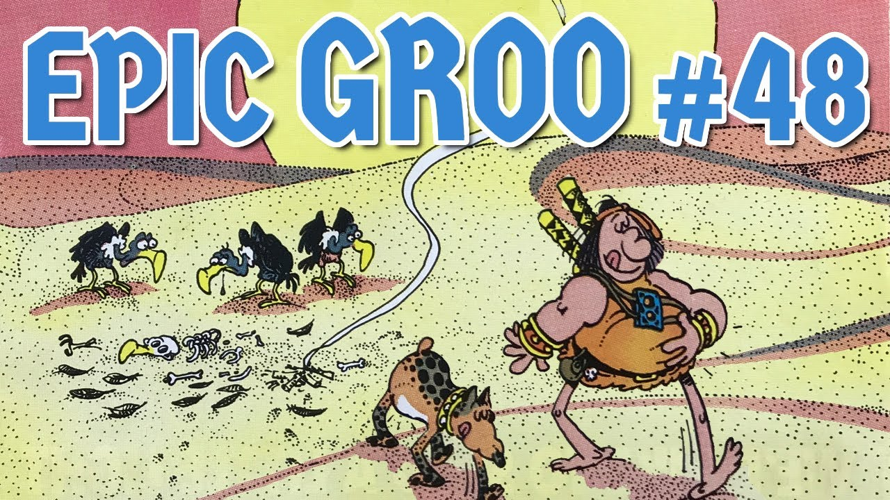 Download Epic Groo The Wanderer 48: Sergio Aragonés Shows His Mastery of Form