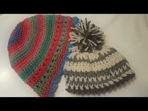 2aa37b1135d How to Crochet   Size the Crown of a Hat Beanie - YouTube