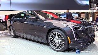 2019 Cadillac CT6 V Sport - Exterior and Interior Walkaround - Debut 2018 New York Auto Show