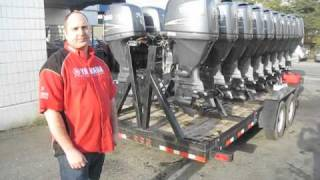 G.A. Checkpoint Presents Used Yamaha Outboard Motors
