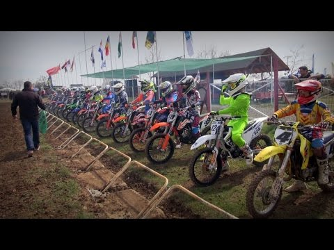 "Motocross EMX 85 Race 1 - Giannitsa ""19.3.2017"""